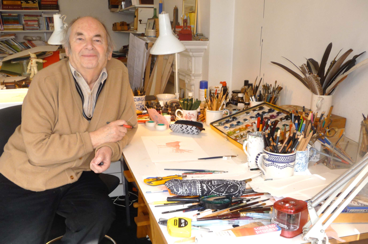 Sir Quentin Blake is Patron of The Kids Network