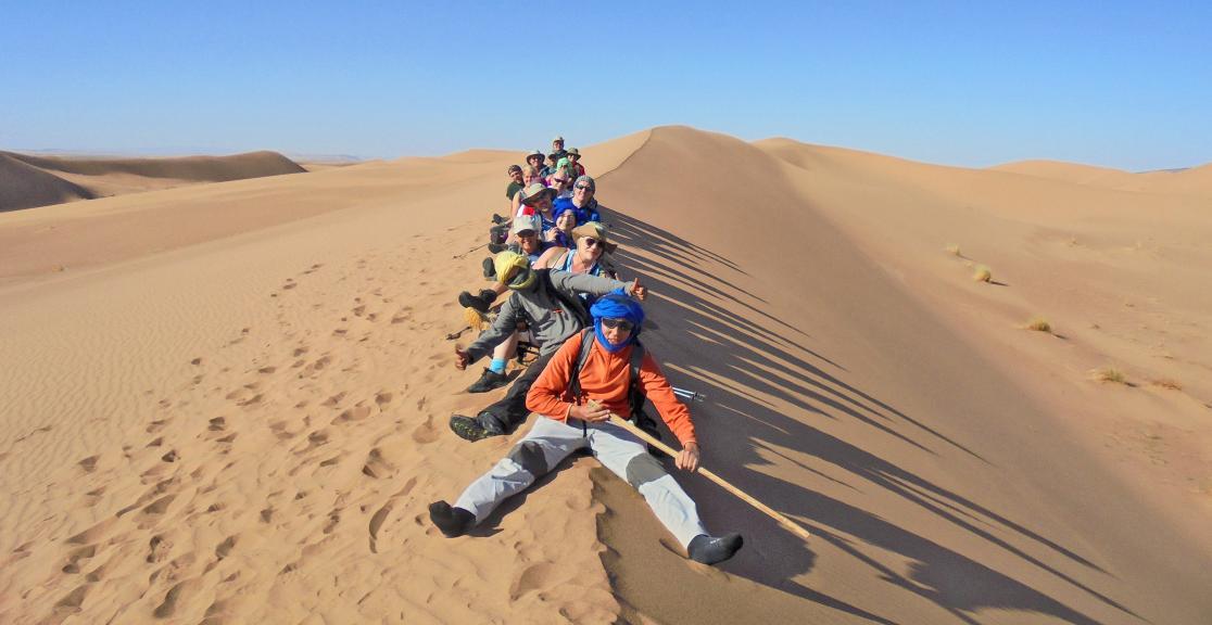 Trek the Sahara for The Kids Network