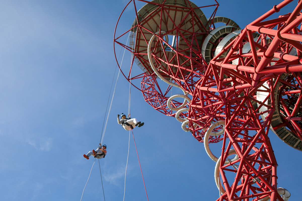 Abseil for the kids network