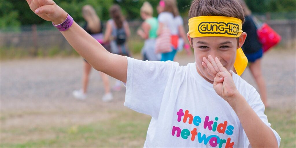 Gung Ho with The Kids Network in London